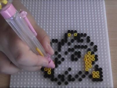 Jolteon ~♥~  Tutorial Hama Beads POKEMON #6