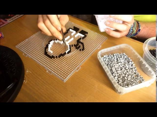 Mago clash of clans Hama Beads