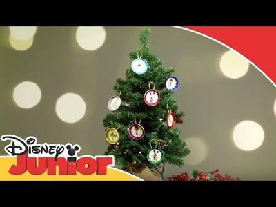 Manualidades de Navidad: Tutorial - Adornos para el Árbol | Disney Junior Oficial