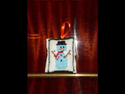 Navidad, DIY Adorno navideño, para tu Arbolito de navidad.Regalo