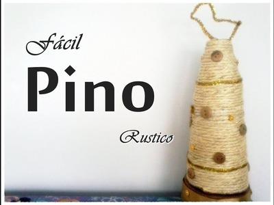 Pino Rustico para decorar en Navidad.