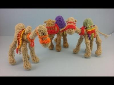 Portal de Belen amigurumi - Video 6 - Los Camellos Reales - Alas de Hada y Ganchilleando Lokuras