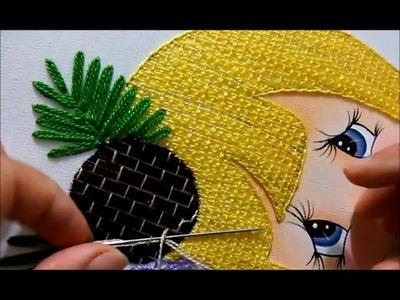 Puntada fantasia coquito, repeticion sombrero