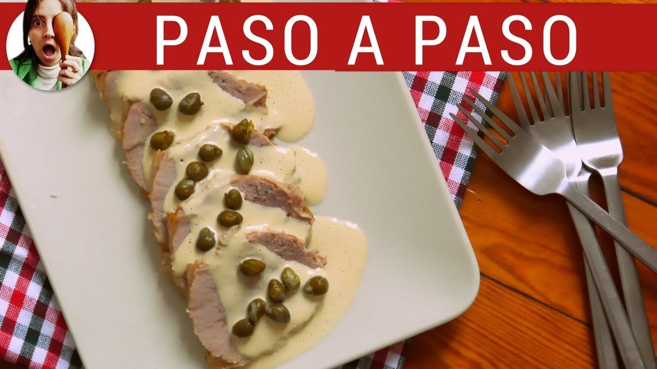 Receta de VITEL TONÉ para navidad: Como hacer vitel toné muy fácil - Paulina Cocina