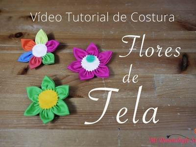 Tutorial #4 - Como hacer Flores de Tela