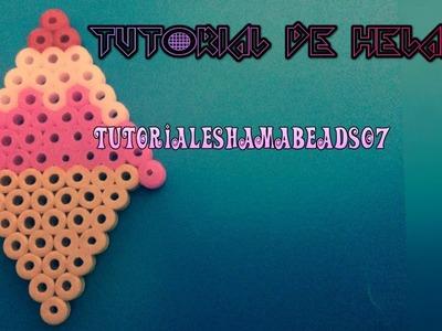 Tutorial de Helado Hama Beads