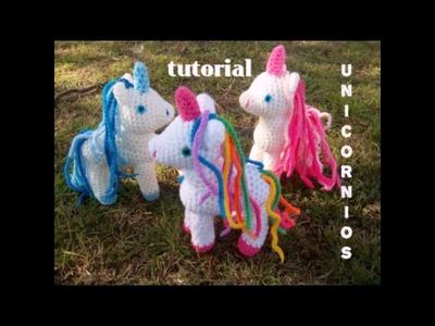 Tutorial  unicornio pequeño Amigurumi