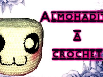 Almohada de MARSHMELLOW a crochet  TUTORIAL PASO A PASO by Alexandra Sacasa