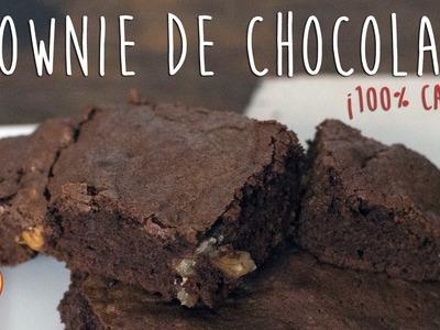 Brownies de Chocolate con Nueces Casero | Receta Fácil | Tenedor Libre