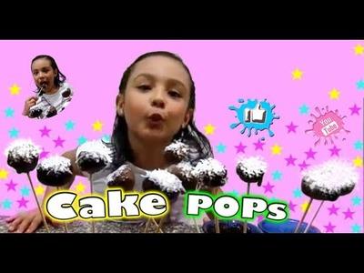 Como hacer cake pops sin hornear