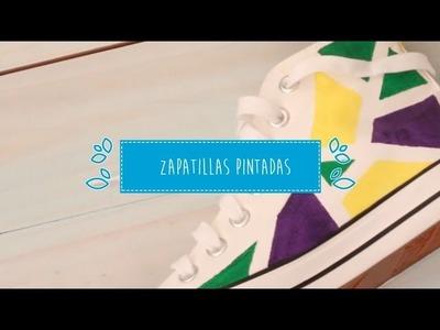 #Craft Tutorial ¡Decora tus zapatillas!