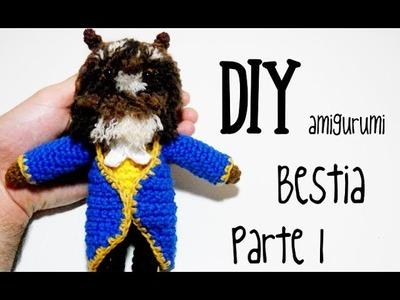 DIY Bestia Parte 1 amigurumi crochet.ganchillo (tutorial)