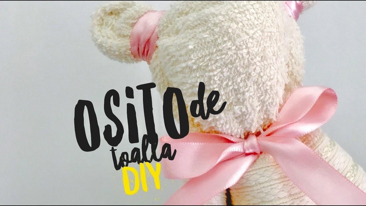 DIY.tutorial: Osito de toalla ( Teddy bear )