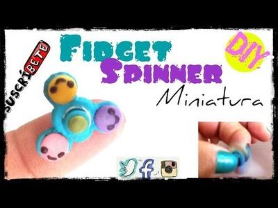 Fidget Spinner de Arcilla Polimérica. Miniatura DIY