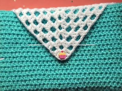 Funda para libro, Biblia, o cuadernillo súper bella y fácil ~ Nya Crochet ❤️