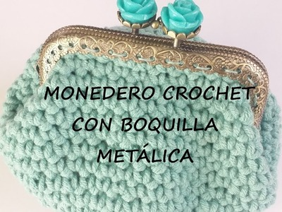 MONEDERO DE CROCHET- CROCHET PURSE