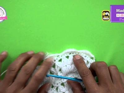 Paso a paso la realización de un suéter tejido a gancho
