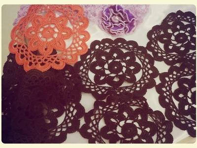 Tutorial Motivo nº2 a Crochet   Tejiendo con Rosita  
