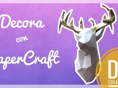 Venado PaperCraft (Video Colaboración con House.of.a.mx) | Orange Craft