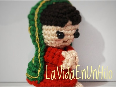 Virgencita de Guadalupe amigurumi Crochet. Crochet Adriana