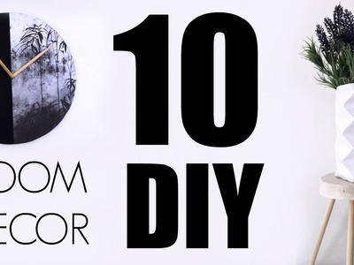 10 DIY ROOM DECOR | DECORA TU CUARTO