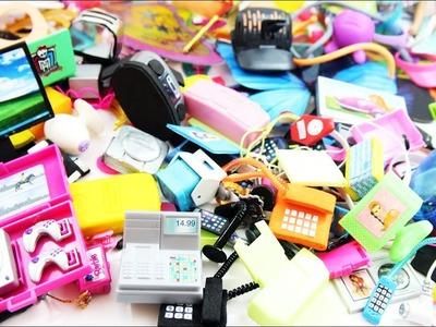 100 Miniaturas y manualidades: Aparatos Electrónicos para Muñecas