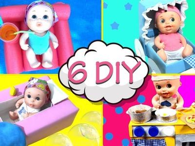 6 Manualidades FACILES Y ORIGINALES para tus muñecos | Locos por el DIY