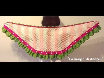 Chal a crochet - segunda parte-