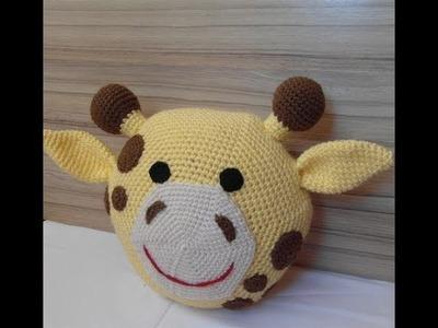 Cojines de crochet con formas de animalitos