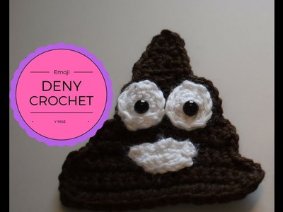 Como hacer Emoji- Crochet ojos y boca Parte 2