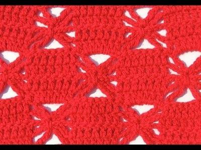 Crochet: Punto Combinado # 28