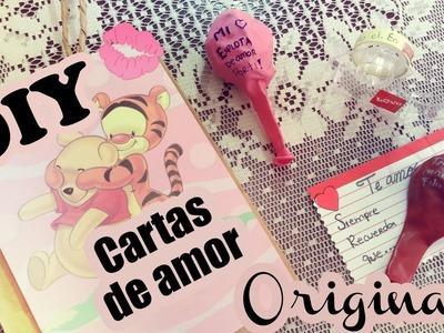 DIY CARTAS de AMOR - BONITAS y ORIGINALES | Dra. Corazón