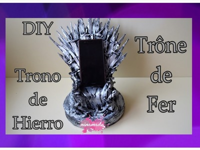 DIY.Como Hacer  El Trono De Hierro.Comment Faire Le Trône De Fer.How To Make Iron Throne.