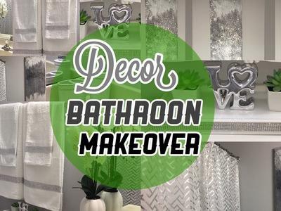 DIY Decor Glam Bathroon| ideas para Decorar Baño Pequeño | Nady