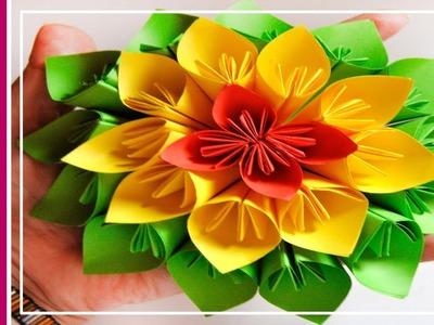 DIY: Flor Kusudama. Kusudama Flower ★ Tutoriales en 1 minuto