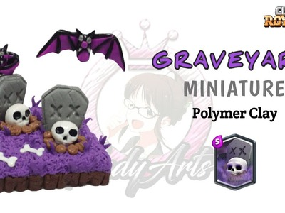 Graveyard | Clash Royale | Polymer Clay Tutorial