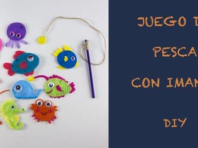 JUEGO DE PESCA CON IMANES - DIY