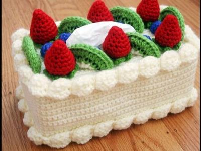 Lindos postres tejidos en crochet♥