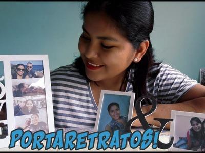Manualidades: Como hacer portaretratos    Estefany Morales