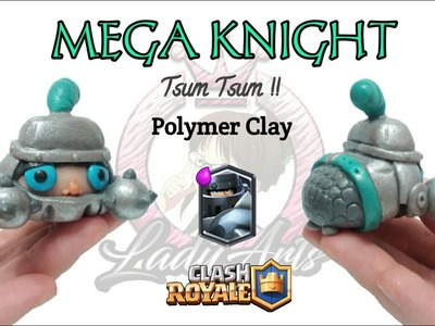 Mega Knight | Clash Royale | Polymer Clay Tutorial