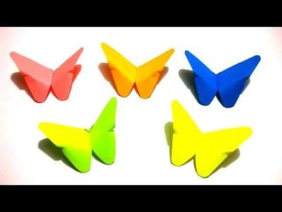 Origami Mariposa: Mariposa de Papel - Fácil y Rápido.DIY - Manualidades