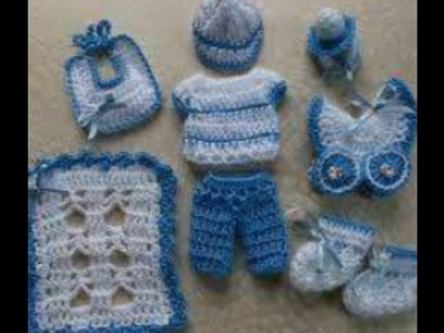 Recuerdos souvenir tejidos en crochet