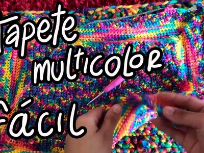 TAPETE SUPER FÁCIL A CROCHET