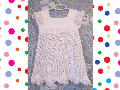 Vestido Blanco Crochet parte 1 de 3