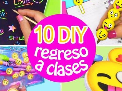 10 DIY REGRESO A CLASES - ÚTILES ESCOLARES  (recopilación) INNOVA MANUALIDADES