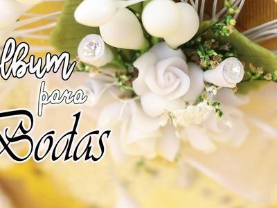 Album de BODAS con ESCONDITES Secretos.  Manualidades con Mariel Picazo