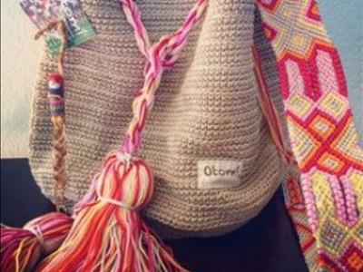 Bolsos Juveniles Tejidos en Crochet Ganchillo