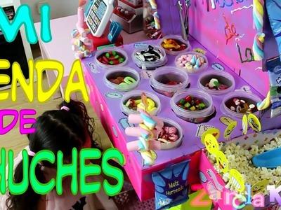 Crea tu TIENDA de CHUCHERIAS  - tienda casera MANUALIDADES