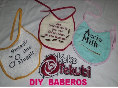 DIY Babero de toalla