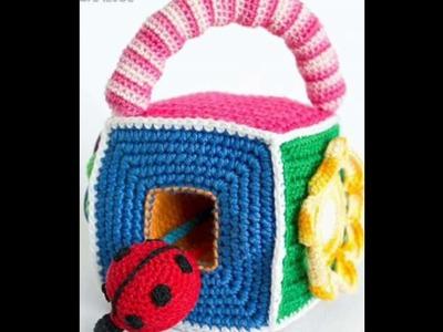 Juegos tejidos en crochet para bebe